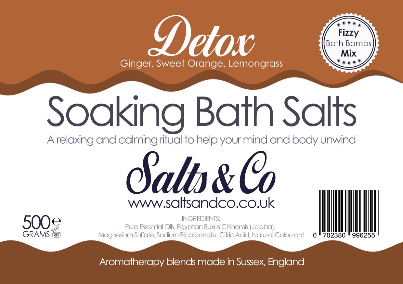 Detox Bath Salts by Salts & Co