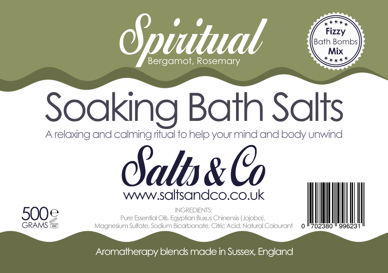 Spiritual Epsom Bath Salts