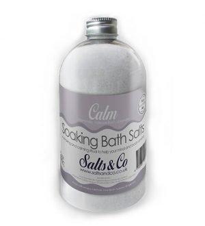 Calm Epsom Bath Salts by Salts & Co