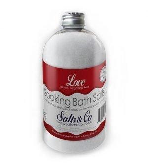 Love  Epsom Bath Salts by Salts & Co