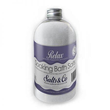 Relax Epsom Bath Salts by Salts & Co