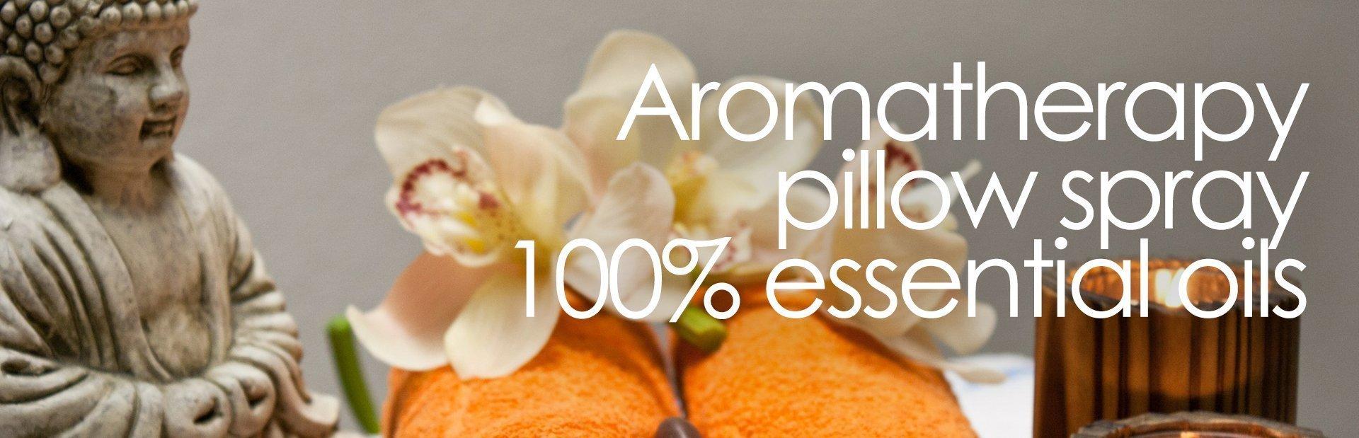 Restful Sleep Pillow Mist Spray Marjoram, Lemongrass & Lavender essential oils