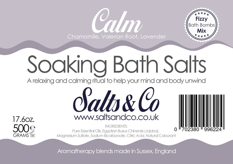 Calm Epsom Bath Salts