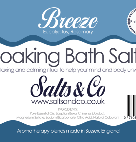 Breeze Bath Salts by Salts & Co