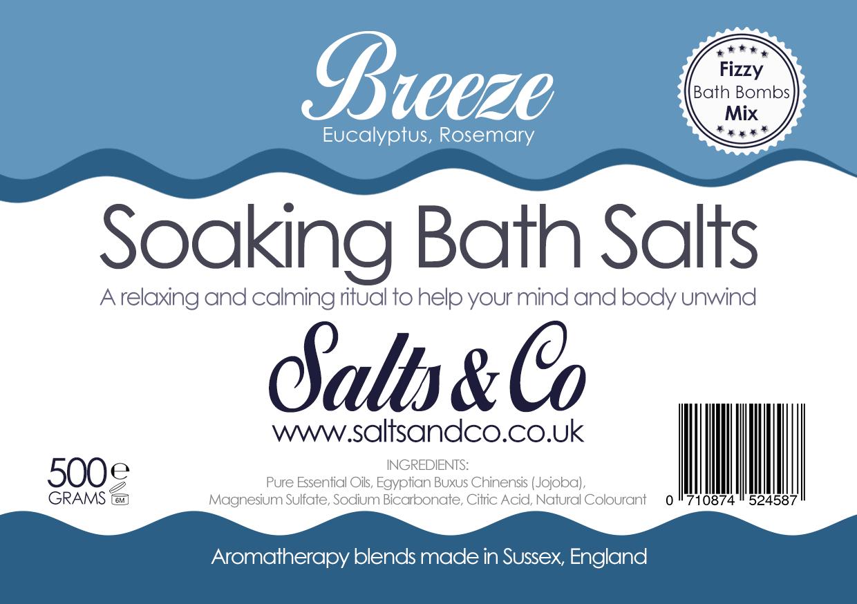 Breeze Epsom Bath Salts