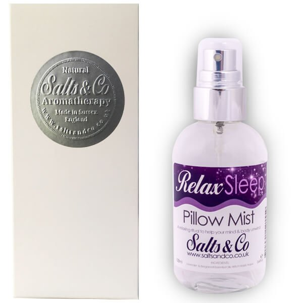 Relax Pillow Spray Lavender & bergamot essential oils