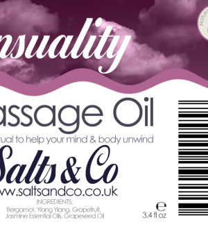 Sensuality Massage Oil by Salts & Co