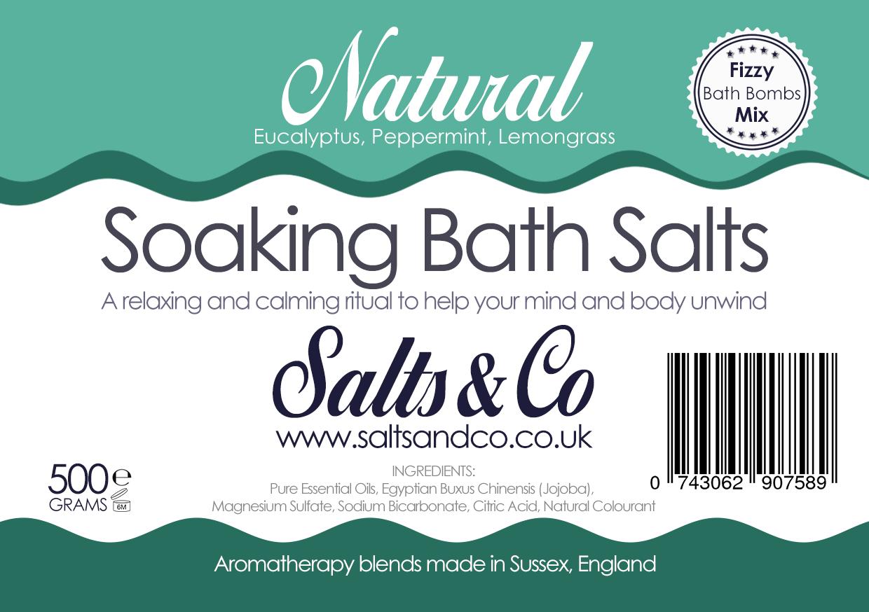 Natural Epsom Bath Salts