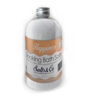 Happiness Soaking Bath Salts – Orange & Neroli Essential Oils – Salts & Co