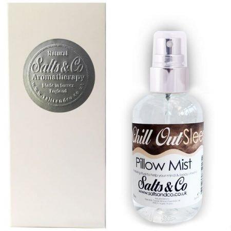 Neroli & Atlas Cedarwood Pillow Mist Spray 100ml – Chill Out Sleep – Aromatherapy by Salts & Co