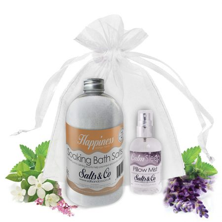 Salts & Co Gift set Happiness & Calm