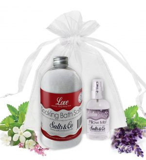 Salts & Co Gift set Love & Calm