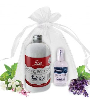 Salts & Co Gift set Love & Dream