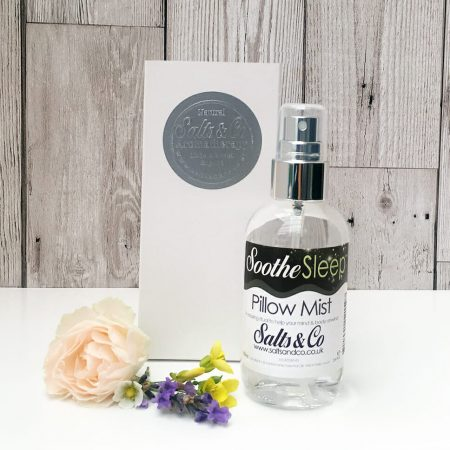Pillow spray to help you sleep – Soothe Pillow Mist by Salts & Co